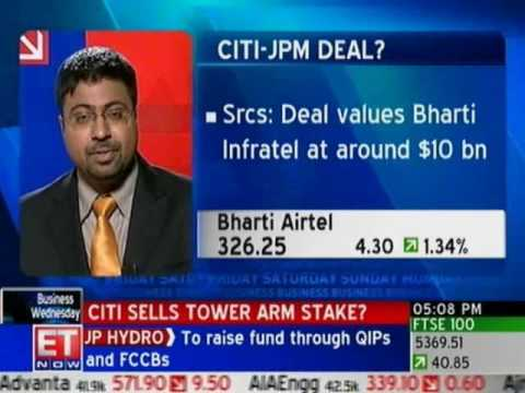 Citi sells minority stake in Bharti Infratel to JPMorgan: So