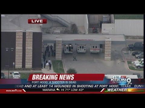 Officials: 4 dead, including gunman, at Fort Hood
