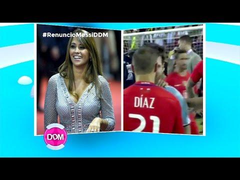 Duro mensaje de la esposa de Lionel Messi tras la derrota de la Selección Argentina