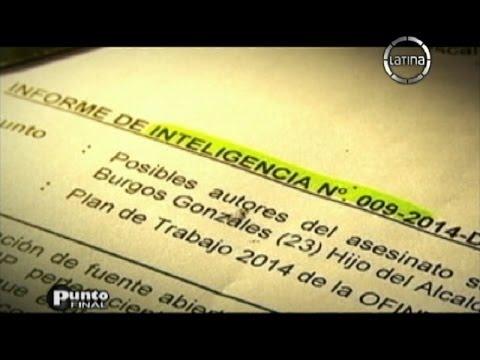 Destape en el caso Burgos: Documento muestra cómo se organizó el crimen