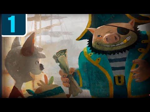Мультфильм про диафильмы - Волшебный фонарь - Островок сокровищ