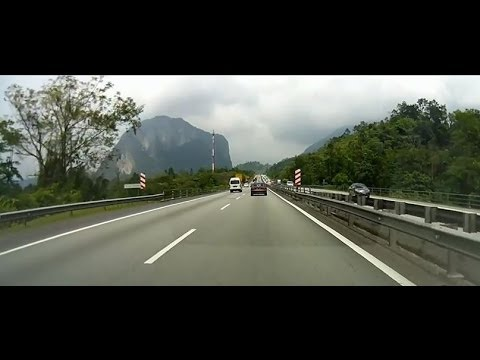 Singapore to Penang in 10mins through the dashboard camera