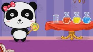 Мультики для детей Малыш Панда Кики и Мюмю Волшебные краски часть 2