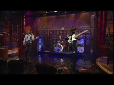 The Whigs on David Letterman -