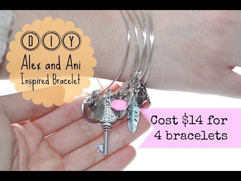 DIY Alex and Ani Inspired Bracelet