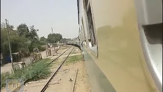 PAKISTAN RAILWAYS :16 DN Karachi express, hyderabad to kotri- pakrail