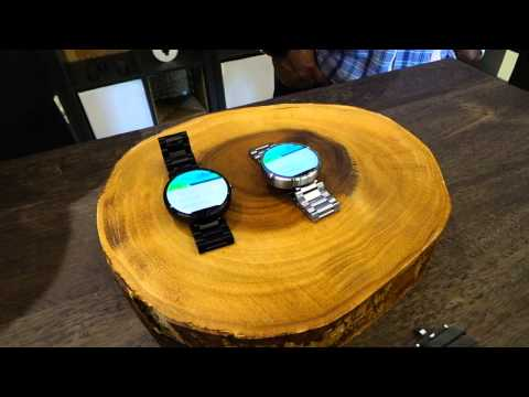 Moto 360 Watchband Comparison