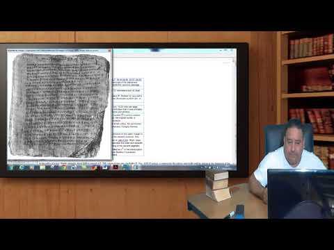 Quem escreveu a Bíblia? A referência dos papiros e códices.