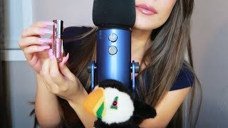 ASMR - Ear to Ear Kisses, Applying Lipgloss & Whispering