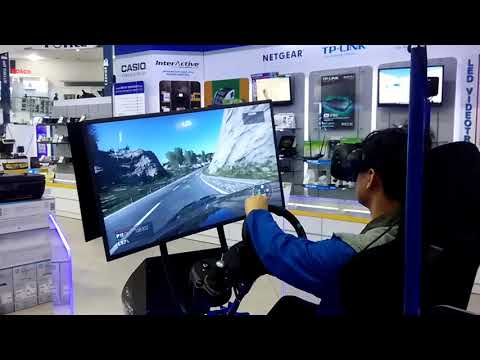 VR RACING MOTION SIMULATOR