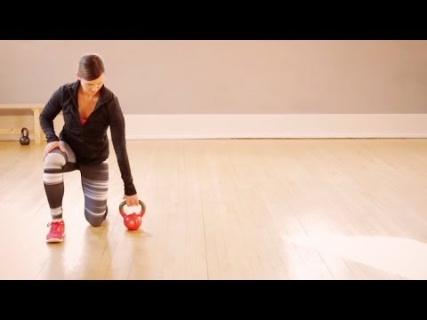 Mini Workout: How to Do Kettlebell Lifts Image 1