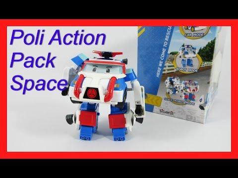 รถโรโบคาร์โพลี แอคชั่น แพ็ค สเปซ Poli Action Pack Space