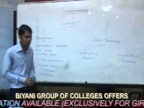 When Biyani group of colleges the stunning