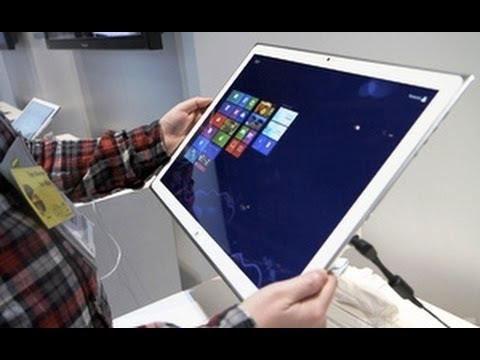Panasonic's 20-inch 4K Windows 8 Tablet Full Specifications