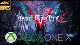 Devil May Cry 5 Demo (Xbox One X) 4K HDR Gameplay
