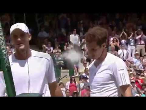 No. 1 court salutes Andy Murray - Wimbledon 2014