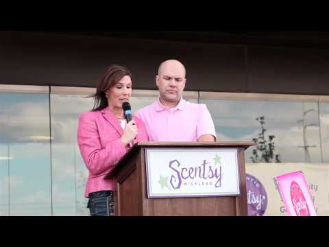 Scentsy Contribute -- Fight Against Breast Cancer