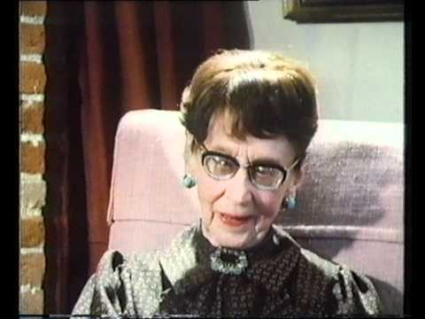 Actress Gwen Ffrangcon-Davies A Life In The Theatre 1983 Part 5