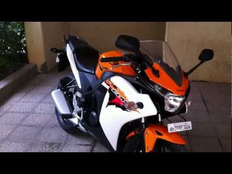 Honda CBR150R walkaround on OVERDRIVE