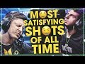 MOST SATISFYING CS:GO PRO SHOTS OF ALL TIME! (INSANE ONE TAPS & CRAZY SPRAY TRANSFERS)
