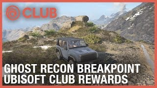 Ubisoft Club: Discover some Ghost Recon Breakpoint Rewards | Ubisoft [NA]