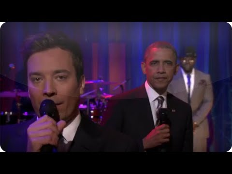 Jimmy Fallon - Slow Jam The News With Barack Obama: Late Night With Jimmy Fallon video