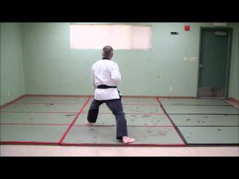 Tang Soo Do - KI CHO HYUNG IL BU - Basic Form # 1 - step by step Image 1