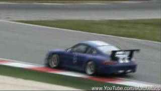 Porsche 997 GT3 CUP in Action – Accelerations & Fly Bys – Very nice sound