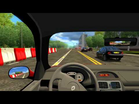 City Car Driving 1.2.4: Renault Clio Sedan
