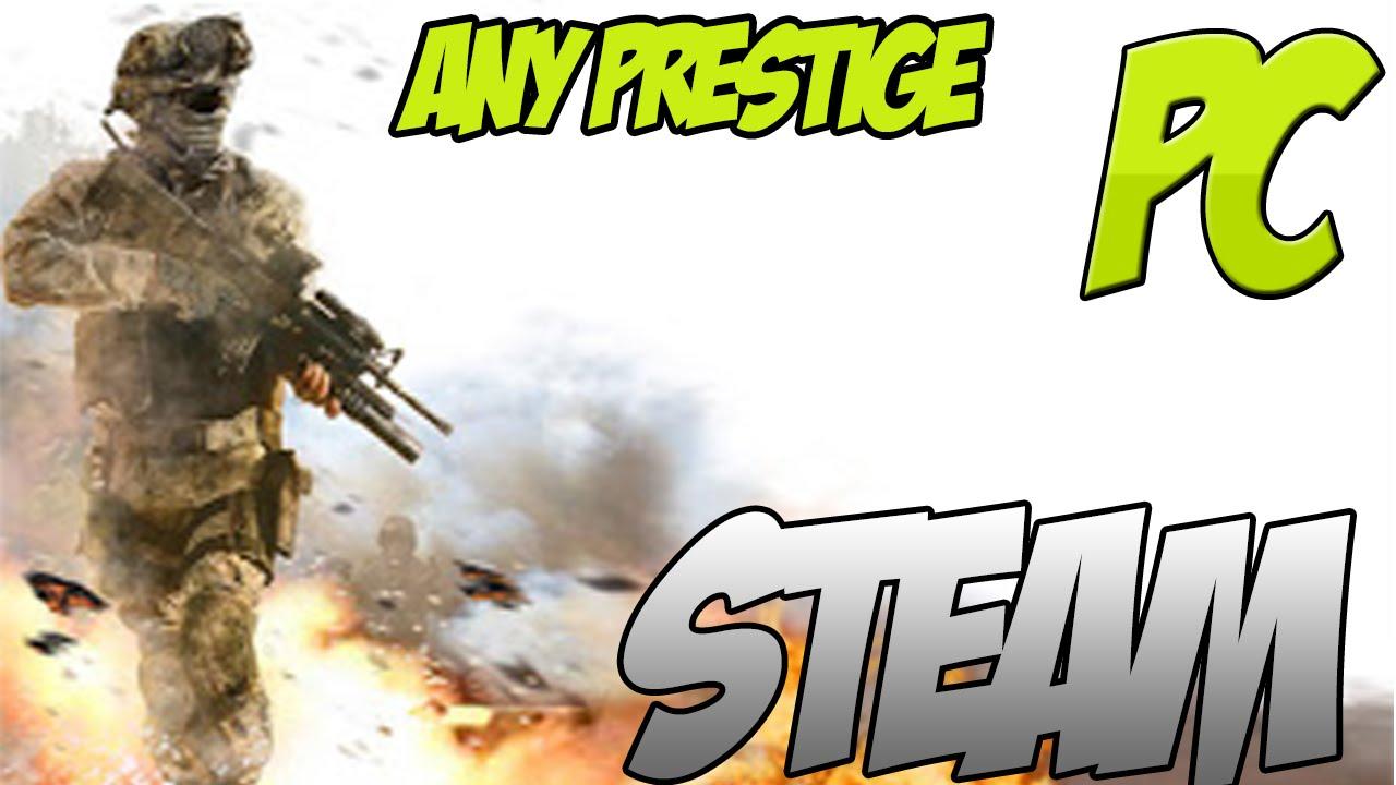 Mw2   Any Prestige You Want Hack Free   Steam PC 2014   HD ...