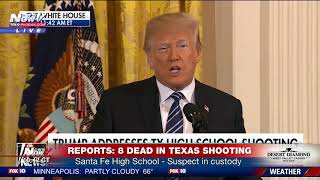 BREAKING: President Trump Responds To Mass Shooting At Santa Fe High School