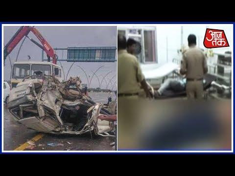 Kannauj Expressway पर भीषण सड़क हादसा: रोडवेज की बस ने 7 छात्रों को कुचला