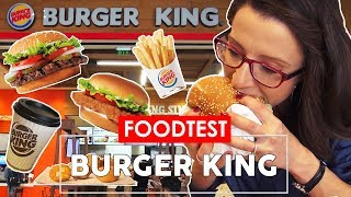 🍔 BURGER KING -  FOOD TEST - CE POTI MANCA?