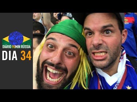 Diário 90min #34 - Direto da Final, nosso Capitão Tomer mostra toda emoção dos Croatas e Franceses!
