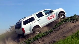 Isuzu D-max - off road test