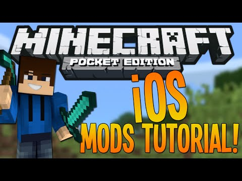 How to install iOS Mods Minecraft Pocket Edition