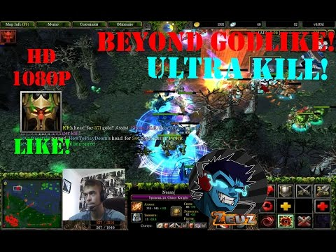 ★DoTa Nessaj, Chaos knight - GamePlay | Guide★ Beyond Godlike! Ultra Kill!★