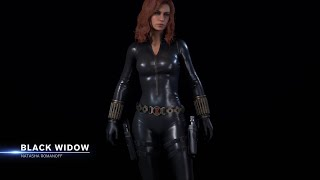 Marvel's Avengers | Black Widow's Alternate Outfit Reveal