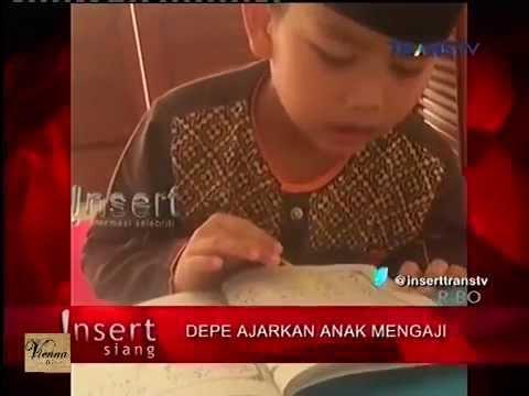 Dewi Persik Ajarkan Anak Mengaji   Insert Siang 6 Agustus 2015 mp4
