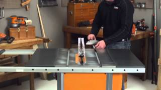 RIDGID How-To Video: For Table Saws