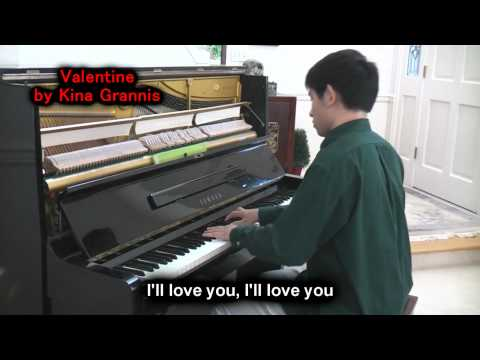 Kina Grannis - Valentine (piano Cover By Will Ting) Music Video video