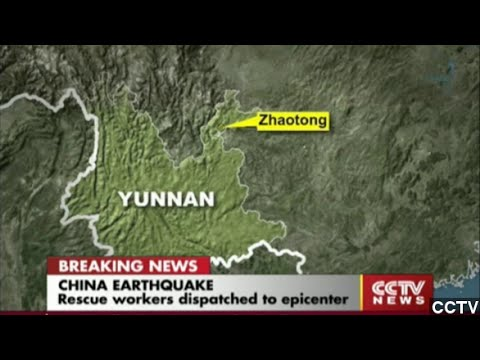 Earthquake Kills At Least 150 People In Southwestern China