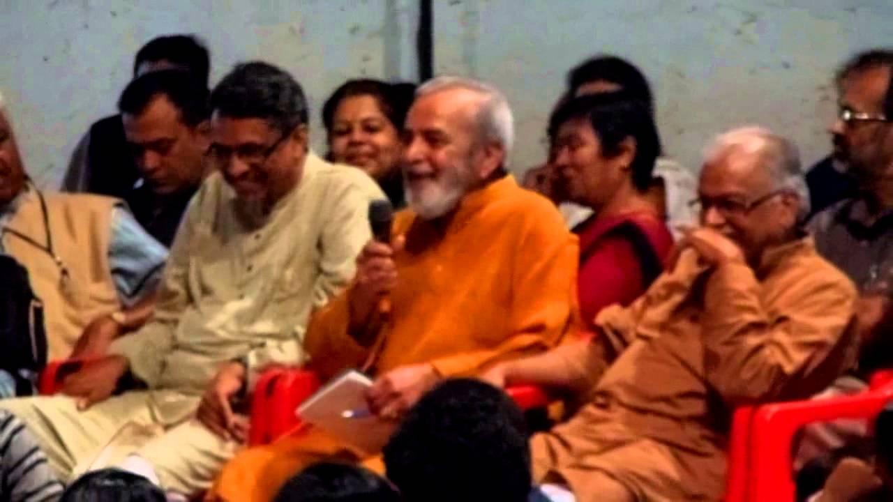 U R Ananthamurthy UR Ananthamurthy at Neenasam