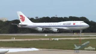 [SBFZ/ FOR] VI Cúpula do BRICS - Pouso RWY13 Boeing 747-4J6 B-2472 Air China (CCA009) 14/07/2014