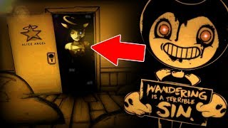 HACKING TO ALICE ANGEL'S BOOTH & NEW ROOMS!! | Bendy and The Ink Machine Chapter 3 CHEATS / SECRETS