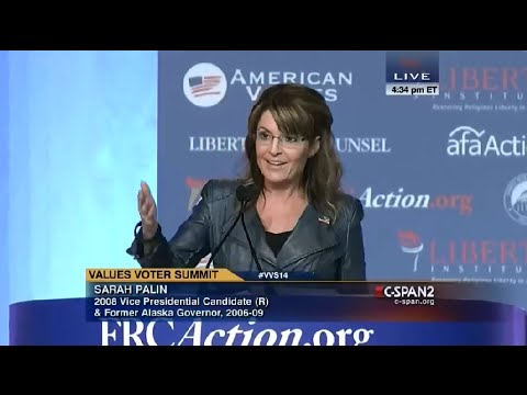 • Sarah Palin • Values Voter Summit • C-SPAN • 9/26/2014 •