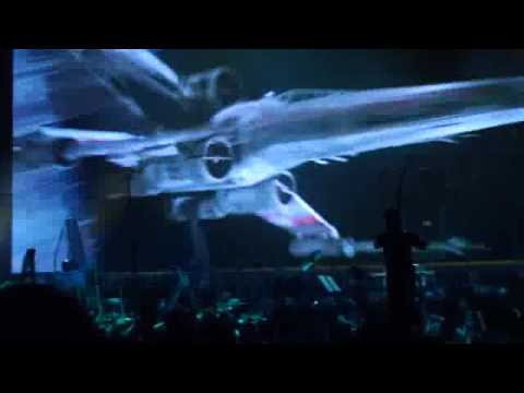 Star Wars In Concert (HD) - 20th Century Fox Fanfare & Main Theme Music - Verizon Wireless Arena, Manchester, NH - 11/12/09 - Performed by The Royal Philharmonic Concert Orchestra.