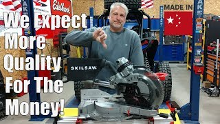 "The Good Bad & Ugly - Skilsaw Worm Drive 12"" Miter Saw SPT88-01"