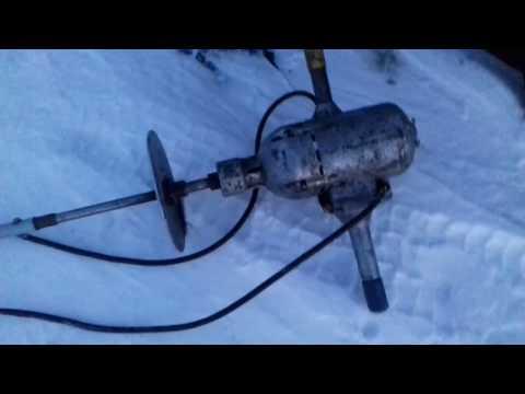 Ледобур из электроусилителя руля