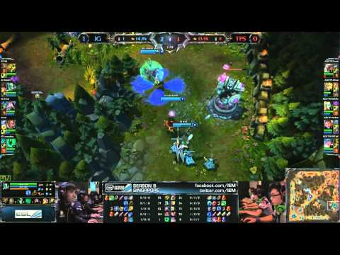 Invictus Gaming vs Taipei Snipers Game 2 | SemiFinals IEM Singapore 2013 | IG vs TPS G2